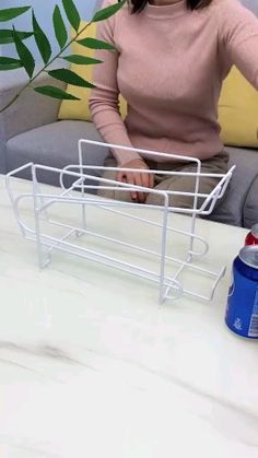 Bizarre and Interesting Products Beer Cola Kitchen Storage Double-Layer Shelf Desktop Storage Rack H Cool Gadgets To Buy, Cool Kitchen Gadgets, Home Gadgets, Cooking Gadgets, Kitchen Hacks, Cool Kitchens, Buy Kitchen, Kitchen Items, Home Decor Kitchen