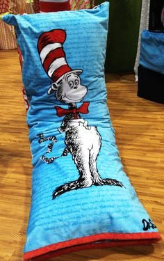 Cuddle Body Pillow The Cat In The Hat Cuddle Room- Intl. Quilt Market Spring 2012