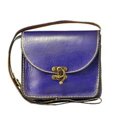 Purple Messenger Bag Medium Size Shoulder Bag for her by ammaciyo, $64.00