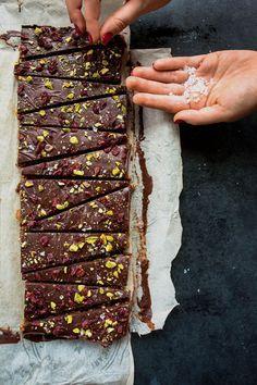 Barres santé dattes choco et quinoa soufflé | K pour Katrine