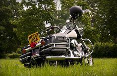Police Harley  #motorcycles #harleydavison