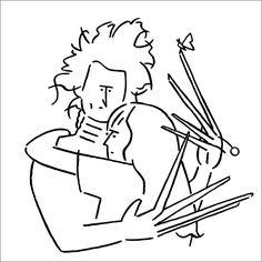 【インタビュー】今、最も注目されるイラストレーター長場雄氏が描くカルチャー・アイコンの世界 - T-SITE LIFESTYLE[T-SITE]