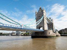 Tower Bridge in London. Architecture Photos