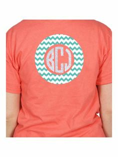 Monogram Circle Short Sleeve Relaxed Fit T-Shirt | Wholesale Accessory Market
