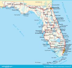 Florida Map Of Beaches.Florida Beaches Map Excerise Florida Florida Beaches Map Of