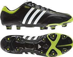 check out afb39 4a8ec Adidas AdiPure TRX FG Black Soccer Cleats 65 BlackWhiteSlime   Visit the  image link more details. (This is an affiliate link)