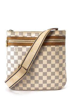 01171b72323d Vintage Louis Vuitton Leather Messenger-Shoulder Bag Vintage Louis Vuitton