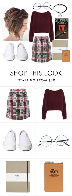 """Untitled #1156"" by freedom2095 ❤ liked on Polyvore featuring Carven, Steven Alan, Vans, Shinola, Alex and Ani and KING"
