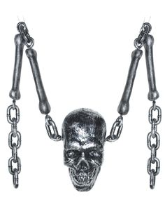Bone and Skull With Chain – Spirit Halloween