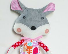 Fox Plush Toy Fox Doll Stuffed Animal for Baby and Children