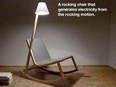 Murakami rocking chair
