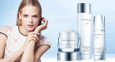 2015 Spring Launch  Estee Lauder New Crescent White Full Cycle Brightening Collection, treatment in balance with the skin's circadian rythym..