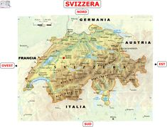 Svizzera Politica Cartina.Svizzera 2ª Media Aiutodislessia Net History And