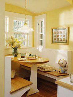 Interiores en amarillo