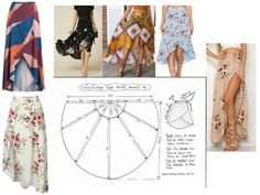 MAXI SKIRT: several models easy to do Bettinael.Made in France by maaayli Couture Sewing, Diy Couture, Skirt Patterns Sewing, Clothes Crafts, Beach Dresses, Classy Dress, Casual, Chic, Fashion