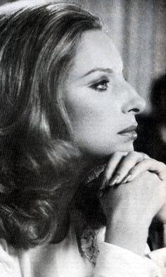 """""""The Way We Were."""" B. Streisand."""