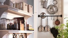 Small wall organizers for your cooking tools