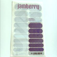 Jamberry New Icy Berry Polka Nail Wraps Jamberry New Icy Berry Polka Nail Wraps. I bundle! Just ask 😊 Jamberry Makeup