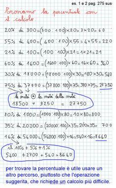 Abbiamo ripreso le percentuali (introdotte lo scorso anno come frazioni) e ho voluto utilizzare una pagina del nostro sussidiario… beh insomma, un lavoro un po' da somari! Esercizio sul…