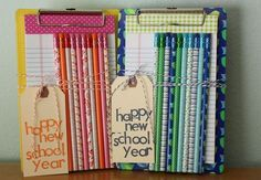 It's that time of year! Back to school pop-by gift idea