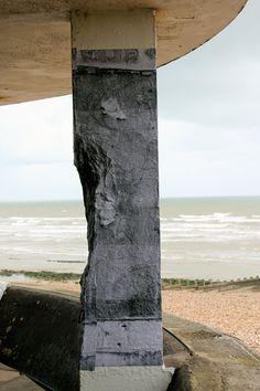 'Demolition Wall', Bottle Ally Hastings & St Leonards on sea.