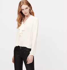 Bow Neck Blouse $49.50