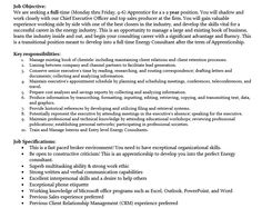 Business DevelopmentOperations Internship Fall  Please