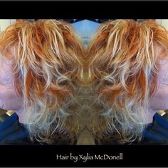 #hairbyxyliamcdonell #joico #joicocolor #red #blonde #copper #copperhair #curls #waves #redhair #hair #hairlove #medium #mediumhair #funhair