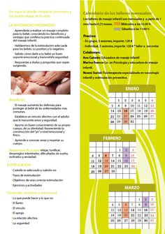 Nuevas fechas Taller de masaje infantil en Lenoarmi Barcelona. Estimulación para bebés.