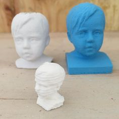 Companions at the studio - Hello there little ones #3dprinting #3dscanning by houseofthol