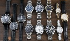 https://www.bernardwatch.com/Whats-New-1047?utm_content=buffera14eb&utm_medium=social&utm_source=pinterest.com&utm_campaign=buffer Our update today hosts five chronographs from Omega, plus a pair of ladies watches from TAG & Rolex, a pair of quartz Longines, and individual pieces from Tiffany, Oris, & Breitling.