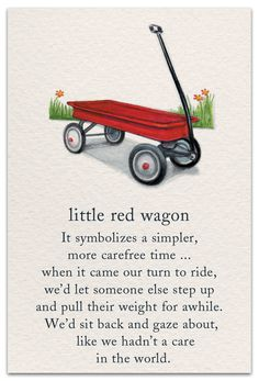 A very fresh approach to cards, these 100 illustrated designs feature popular symbols and their significance. Little Red Wagon, Spiritual Symbols, Flower Meanings, Symbols And Meanings, Card Sayings, Meaning Of Life, Good Thoughts, True Words, Childhood Memories