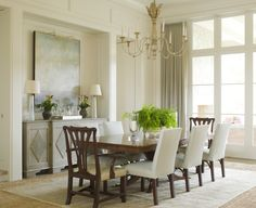 Beautiful dining room