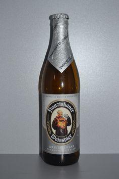 "Good wheat beer... ""Franziskaner Weissbier Kristallklar"": Cerveza de Münich (Alemania) / ""Franziskaner Weissbier Kristallklar"": Beer from Munich (Germany)"