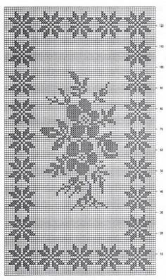 Discover thousands of images about Dantel örtüler Cross Stitch Patterns, Table Runner Pattern, Manta Crochet, Cross Stitch Rose, Blue Roses, Filet Crochet, Plastic Canvas, Doilies, Hardanger