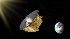 LISA Pathfinder, the technology testbed mission for a future gravitational-wave detector, turns out to be a surprisingly good micrometeoroid hunter. The post LISA Pathfinder: From Gravitational Waves to Space Dust appeared first on Sky & Telescope. Lisa, Les Satellites, Space Dust, Space Probe, Nasa Space, Space Telescope, Gravitational Waves, Cosmos, Milky Way