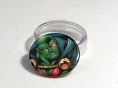"Comic Book 1.5"" Button// Martian Manhunter, $1.00"