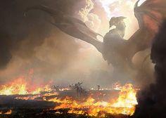 Dragon (Burn) vs Knights