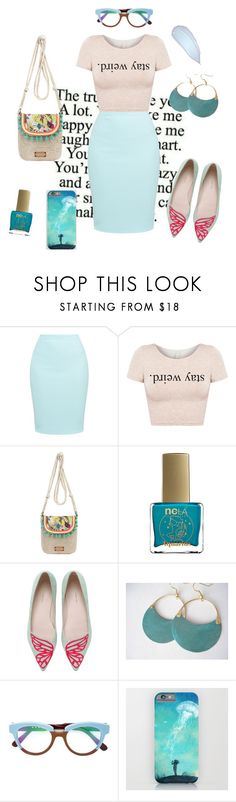 """""""Stay Weird"""" by liahayes ❤ liked on Polyvore featuring Sakroots, ncLA, Sophia Webster and Marni"""