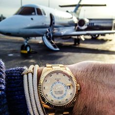 It's time to leave for the Cayman Islands ...it's Rolex time