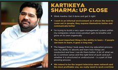 Kartikeya Sharma is the Managing Director of iTV network, which runs India News, NewsX, Aaj Samaaj and Sunday Guardian.