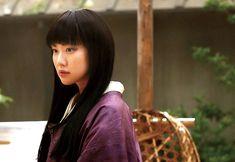 Aoi Yu as Takani Megumi in Rurouni Kenshin