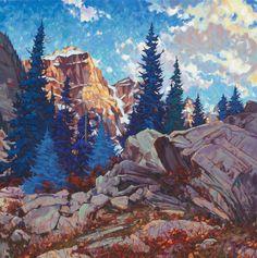 Glory of Lake Moraine Domink J. Modlinski