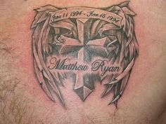 i like this except for the wings...it would have my grandfather's name and dates
