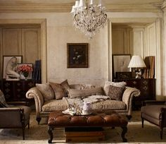 Ralph Lauren Home #The_Heiress Collection 4 - Living room