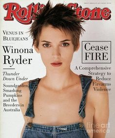 Winona Ryder Rollingstone Cover 1994