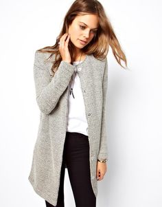 ASOS Jacket In Longline And Texture
