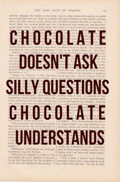 mmm chocolate.....