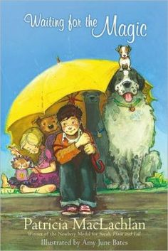 Waiting for the Magic: When William's father leaves, his mother promptly goes out and gets four dogs and a cat. This is one of the titles on the 2013-14 Oregon Battle of the Books reading list for Grades 3-5.
