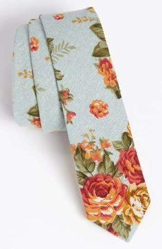 Topman Floral Print Woven Tie | Nordstrom / Wantering